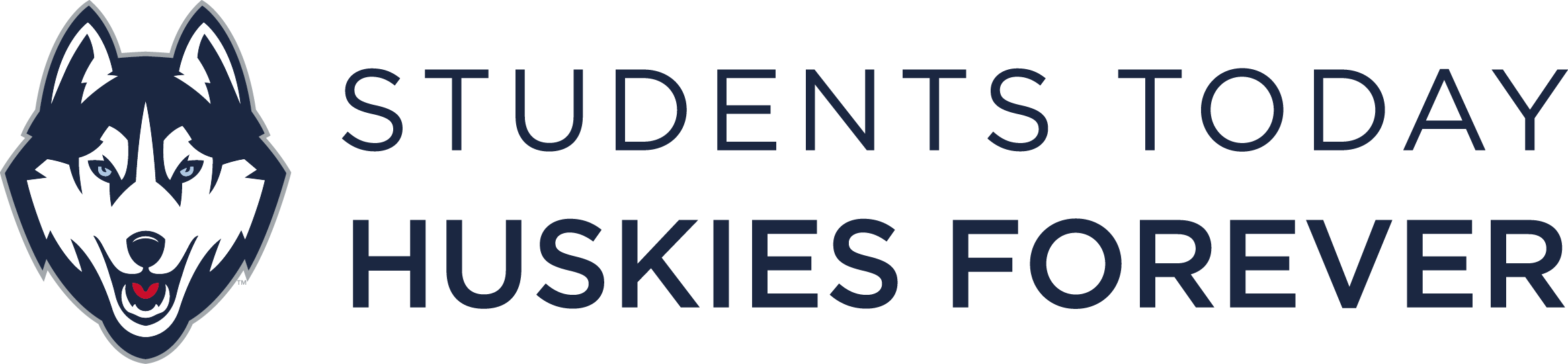 UConn motto: Students Today, Huskies Forever